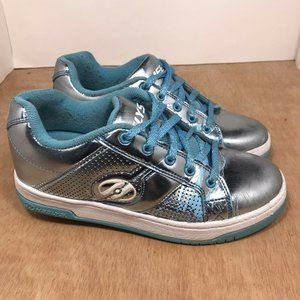 Heelys Split Chrome Sneakers - Blue/ Silver sz 4 Y